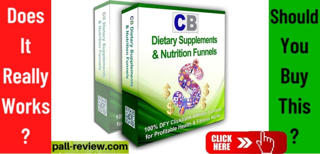 Clickbank Dietary Supplements Affiliate Review